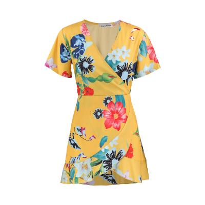 flower bakangs lap dress